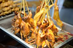 Street food - pigeon I think....