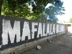 """""""Did you know the name Mafalala also comes from the north? According to several testimonies the name Mafalala comes from a dance from the Macua people called M´falala. The dance was practiced in colonial times by people coming from Ilha de Mocambique in this part of town. When people wanted to refer to this site in their local language Ronga, the traditional language from Maputo, they said Ka Mafalala. With the passing of time the area became eventually Mafalala."""" (By Charline van Deth) Maputo, Colonial, Language, Politics, Van, Culture, Traditional, Times, People"""