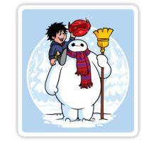 Inflatable Snowman (STICKER) Sticker