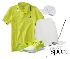 """""""golf wear"""" by mayang-muchtar on Polyvore featuring Aéropostale, VILA, Puma and NIKE"""