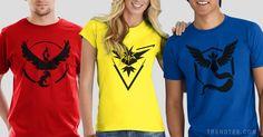 # pokemon #pokemongo #pokemonteams #Valor #Mystic #Instinct #pokemontshirt