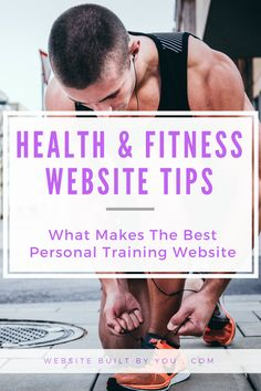 Learn to create the best personal training website for your personal training business or personal training blog. How to make an attractive personal training homepage as well as a fitness website that turns visitors into clients. Learn what you need in your health and fitness website today