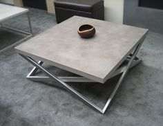 Contemporary Concrete Tables from Trueform Concrete contemporary furniture