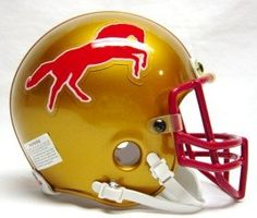 Birmingham Stallions Nfl Football Helmets, Football Uniforms, Football Team, American Football League, National Football League, Sports Logos, Sports Art, Spring Football, Helmet Logo