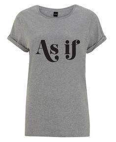 As If en Tee-shirt femme