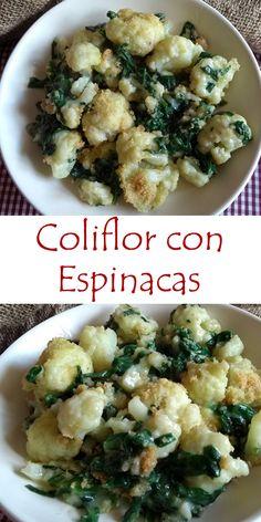 Paleo, Keto, Tortellini, Potato Salad, Cauliflower, Yummy Food, Healthy Recipes, Meals, Vegetables