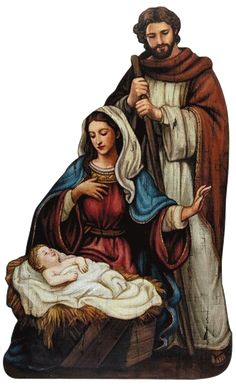 Nativity Scene large size nativity scene plaque with metal hook to hang or easel. Beautiful and colorful Icon type plaque. Beautiful Christmas scene with baby Jesus in the Manger. Perfect for church, Mais Christmas Nativity Set, Christmas Art, Christmas Bells, Vintage Christmas Cards, Christmas Pictures, Beautiful Christmas Scenes, Arte Country, O Holy Night, Christmas Graphics