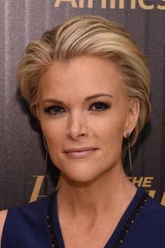 Megyn Kelly Short Straight Cut - Megyn Kelly looked cool with her short blonde 'do at the Hollywood Reporter's 35 Most Powerful People in Media event.