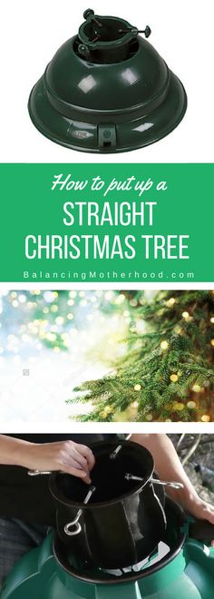 Watch this short video on how to get a straight Christmas tree every time. This is simply the best Christmas tree stand you'll find.