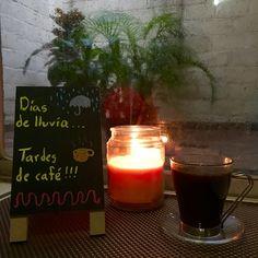 Días de lluvia... Tardes de café!!! ☕️☔️  22/07/16