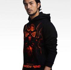 Comprar Dota 2 hoodie legal on-line pulôver preto Nevermore mens hoodies