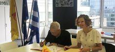 Magazino1: Τα ελληνικά επίσημη ξένη γλώσσα στα Λύκεια του Βελ...