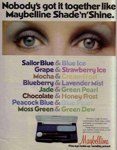 1977  -  I remember wearing this shade!