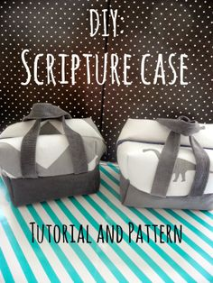 Dream Crafter: Scripture Case Tutorial and Pattern