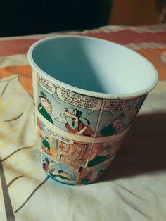 Decore sua casa com esse maravilhoso balde de recorte em quadrinhos do pateta.