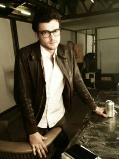 Alden Ehrenreich. He should wear glasses always.