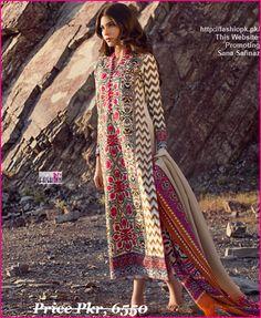 Sana Safinaz Latest Winter Collection 2014-15-07 Fashionpk.pk Latest Fashion's Trends, Entertainment & Beauty Tips