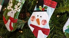 Remember the simple joys of Christmas with the adorable Better Not Pout Stocking Ornament Club which includes twelve individual kits to make these festive dimensional ornaments that each feature a timeless appliqué design with sweet details!