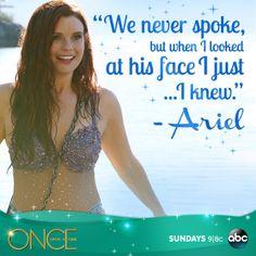 Ariel played JoAnna Garcia Swisher Once Upon A Time Season 3 © 2013 Disney/Abc Companies