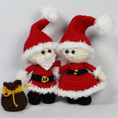 Mini Christmas couple