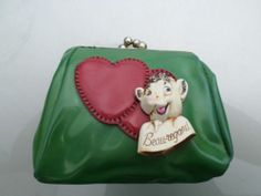 Vintage 1950s RARE Borden Dairy 'Beauregard' Purse