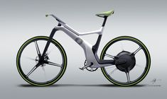 smart ebike on Behance