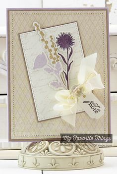 Peaceful Wildflowers, Blueprints 8 Die-namics, Pierced Rectangle STAX Die-namics, Rectangle STAX Set 2 Die-namics, Wildflowers Die-namics - Mona Pendleton #mftstamps