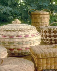 Maine Indian Basket Makers
