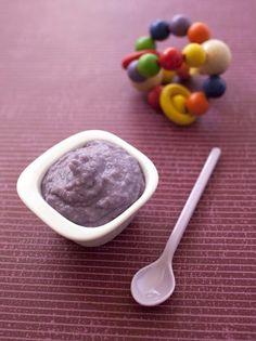 Photo recette Purée de bébé chou rouge et pâtes