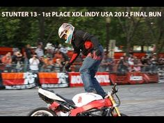"""Rafał """"Stunter13"""" Pasierbek has won one of the top level for motorcycle riding event n the world, XDL Indy USA 2012. So check out his show."""