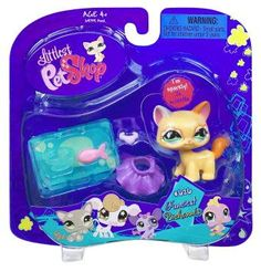 #626 KITTEN * FANCIEST * Littlest Pet Shop (Includes: Skirt, Collar, Fish, Bowl & Placemat) Hasbro http://www.amazon.com/dp/B001B0UAS0/ref=cm_sw_r_pi_dp_eXLbub1Z1PJM2
