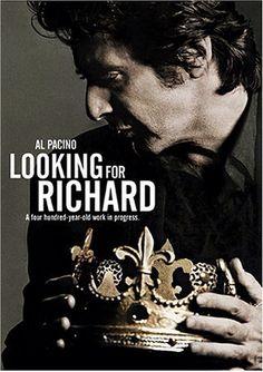 Looking for Richard. 1996. Richard III. Al Pacino.