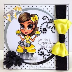 Sept Fan Page Challenge at Simply Betty Stamps Face Book, Fan Page, Color Card, Card Ideas, Mickey Mouse, Disney Characters, Fictional Characters, Stamps, Coloring