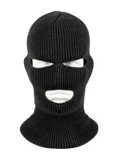 You have to conceal your identity when committing any crime outside of cyber crimes. Ski Masks help to hide your face from security cameras, all the while making you look like a right high class criminal! This form fitting, one size fits all ski mask is perfect for any heist.