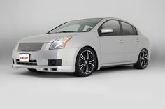 STILLEN 2007 Nissan Sentra lip spoiler.