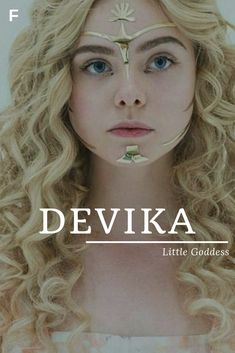 Devika, meaning Little Goddess, Sanskrit names, D baby girl names, D baby names, female names, whimsical baby names, baby girl names, traditional names, names that start with D, strong baby names, unique baby names, feminine names, nature names, character names, character inspiration