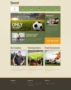 Soccer - WordPress Template
