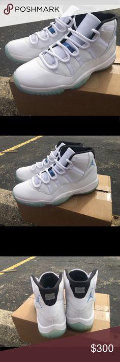 6959c19a2fc174 Air Jordan Retro 11 Columbia   Legend Blue 13 Nike Air Jordan Retro 11 2014