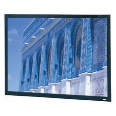 """Da-Lite 84152 Cinema Vision Da-Snap Fixed Frame Screen - 120"""" x 160"""" Video Format by Da-Lite. $1728.99. 84152 Features: -Suitable for mounting on the wall or into wall opening..-Easily attached front or rear projection screen surface with snaps or optional Velcro..-Provides a perfectly flat viewing surface for video projection applications..-Surface mounts to back of black powder coated frame that provides a masking border..-Front projection surfaces standard with black bac..."""