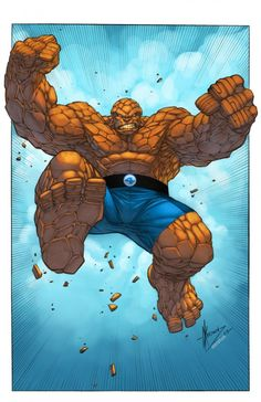 The Thing by Dale Keown. Colors by Ander Zarate
