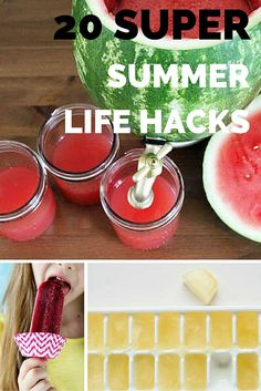 These super smart life hacks will make your summer run more smoothly.