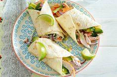 Wraps met gerookte kip en avocado - Recept - Allerhande