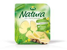 Arla - Natura - Käse - Russland - Hvarti - DesignKis  - Packaging - Design - 2013 - Verpackung