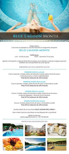 NEWSLETTER BLUE LAGOON MONTH