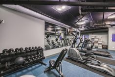 Stick to your goals with our state-of-the-art #fitness center! #ReNew595 #Apartments #Chicago #IL #IAmRenewed
