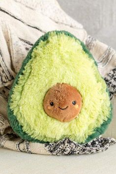 I honestly think this stuffed avocado would make a great birthday gift. I love squishable's kawaii aesthetic to their stuffed toys. Food Pillows, Cute Pillows, Diy Pillows, Kawaii Plush, Cute Plush, Cute Avocado, 233, Cute Stuffed Animals, Boho Nursery