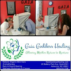 Like Gaia Goddess Healing on Facebook to learn how to get your free skin analysis.