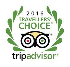 Trip Advisor Travellers' Choice 2016 winner !!! :D