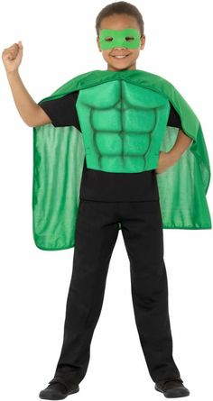 Kids Superhero Kit Superhero Fancy Dress, 2 In, Dress Up, Medium, Kids, Products, Fashion, Young Children, Moda