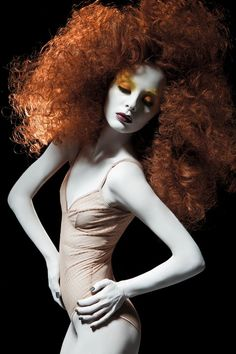 Photo Restem GripovHair Alexey YaroslavtsevMU by Mischa Vidyaev #avantgarde hair